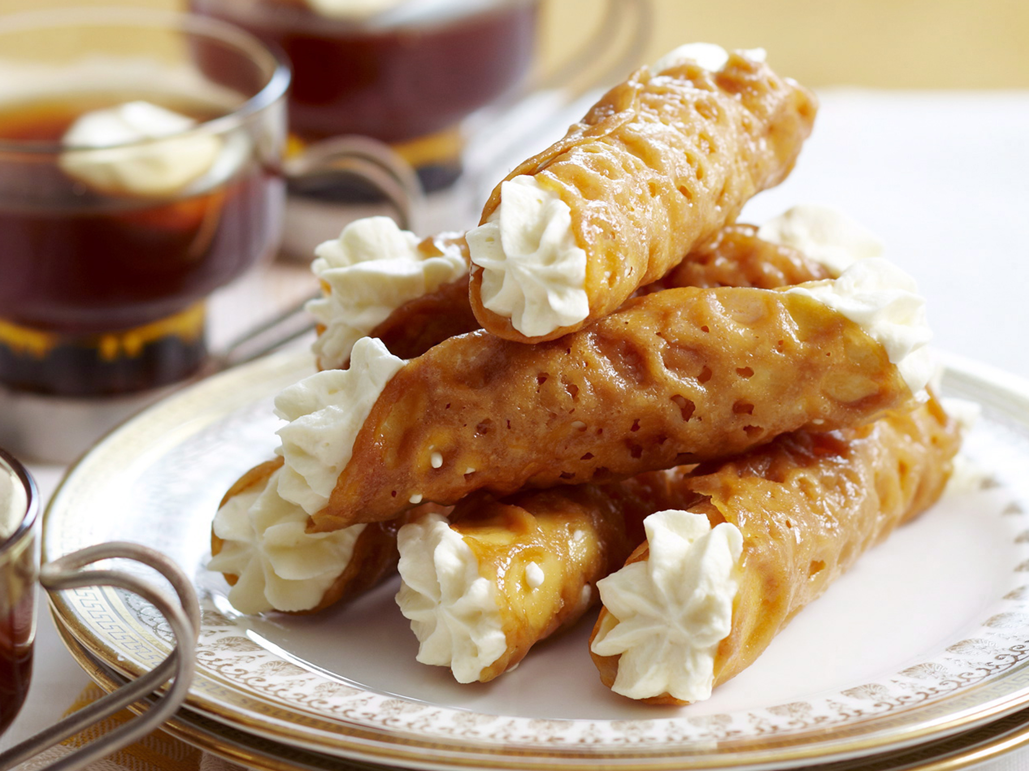 Everyday Food - Retro Food - Retro Dinner Party - Brandy Snaps